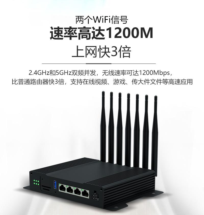 RDT-WG259千兆无线4G路由器